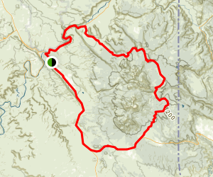 La Sal Mountains Drive Map