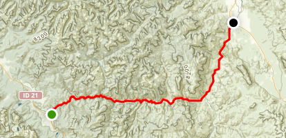 Salmon River Scenic Byway Trail Map