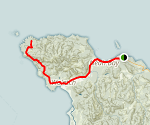 Cape Flattery Tribal Scenic Byway Map