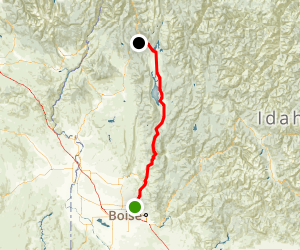 Payette River Scenic Byway Map