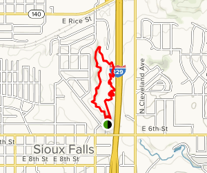 Leaders Park Trails Map