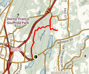 Mattabesett and Mount Higby Trail Map