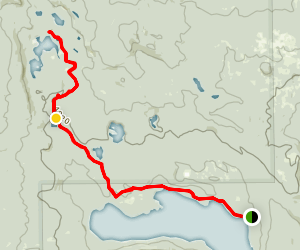 Winopee Lake Trail Map