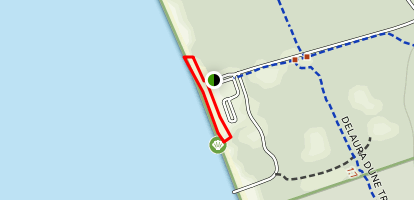 Peter Iredale Trail Map