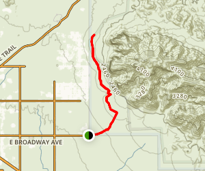 Jacob's Crosscut Trail Map