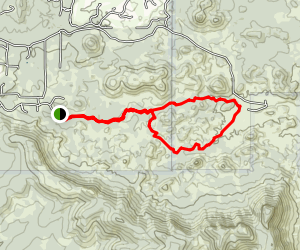 The No Name Trail Map