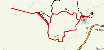 Giant Logs Trail Map