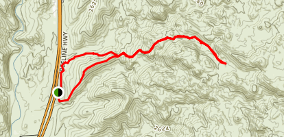 Pine Creek Loop And Ballantine Trail  Map