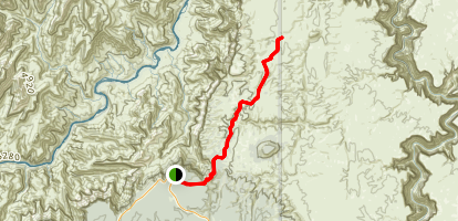 Blue Springs Trail Map
