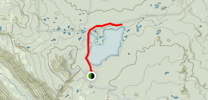 Summit Lake Map