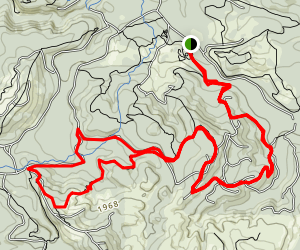 Browns Camp Area Trails Map