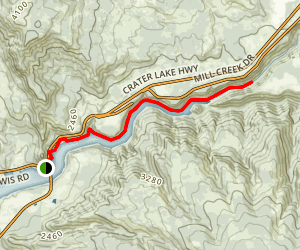 Mouth of South Fork Map