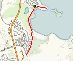 West Loch Community Shoreline Park Trail Map