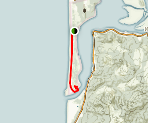 Nehalem Spit Trail Map