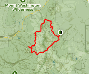 Northern Three Sisters Loop Trail Map