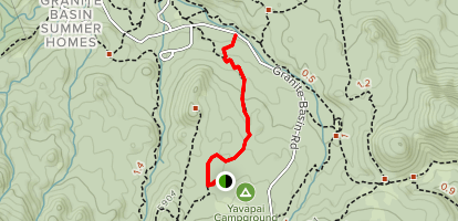 Surprise Spring Trail Map