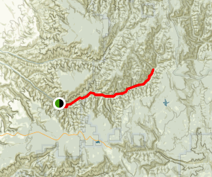 South Fork Walla Walla River Trail Map