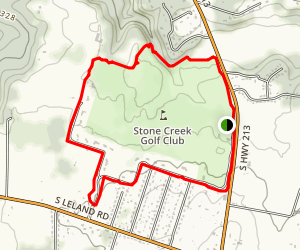 Stone Creek Hiking Trail Map