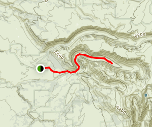 Big Indian Gorge Trail Map