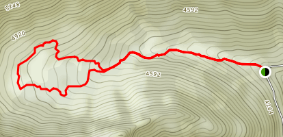 Echo Mountain Trail Map
