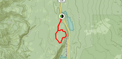 Isaac Nickerson Loop Trail Map