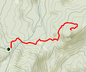 East Fort Trail  Map