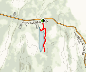 Bluebill Lake Trail Map