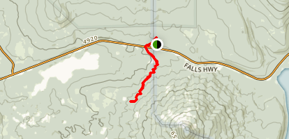 Brown Mountain Trail Map