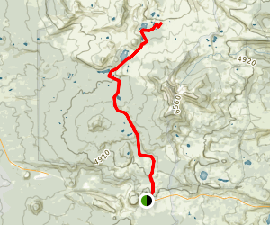 Bowerman Lakes Trail Map