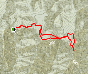 Oregon Butte Trail Map