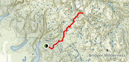 Indian Pass Trail Map