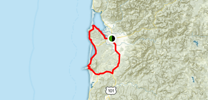 Three Capes Scenic Loop Map