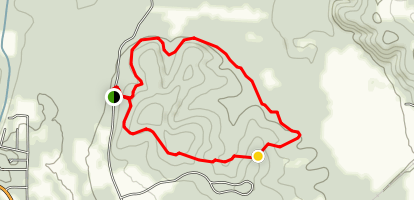 Lost Hill Trail Map