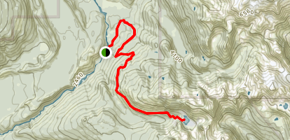 Watersprite Lake (Summer Route) Map