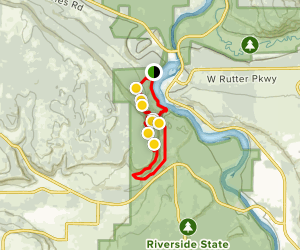 Pine Bluff Loop Map