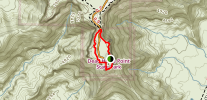 Dead Horse Point State Park Short Loop Trail Map