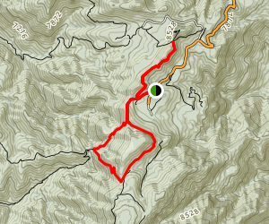 Crest Trail Loop Map