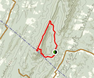 Shockeys Knob Loop Map