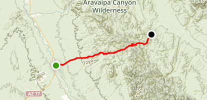 Copper Creek Mining District Trail Map