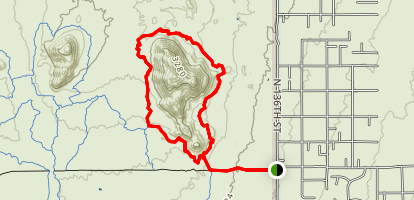 Granite Mountain Loop Map