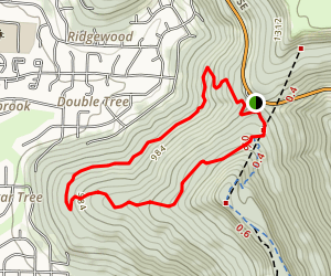 Smokerise and Sugar Tree Trails Loop Map