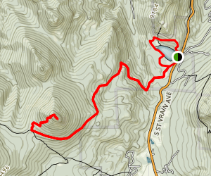 Lilly Lake to Estes Cone Loop Map