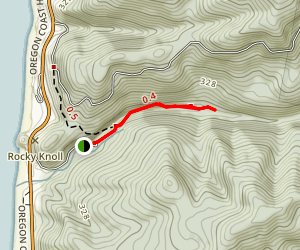 Rock Creek Campground Trail Map