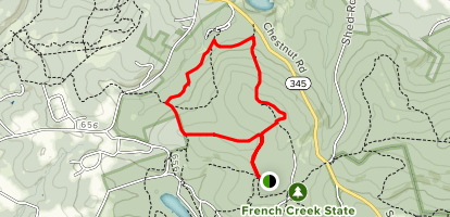 Six Penny Trail Map