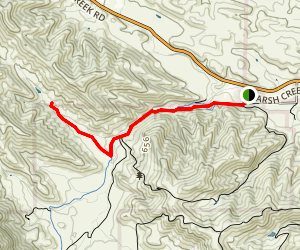Fox Trail Via Miwok Trail Map