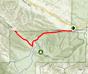 Foxtail Trail Via Miwok and Murphy Meadow Trail Map