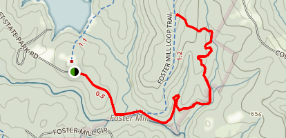 Lower Rocky Ridge Trail Map