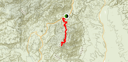 Mount Ord Trail Map