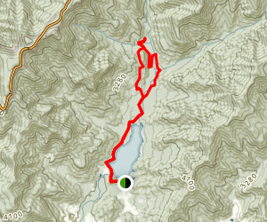 Asheville Watershed Loop (CLOSED) Map