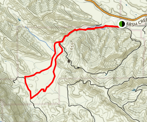Murphy Meadow Trail Loop Map